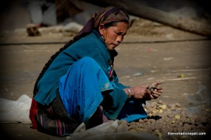 Photo: Local Tamang Woman